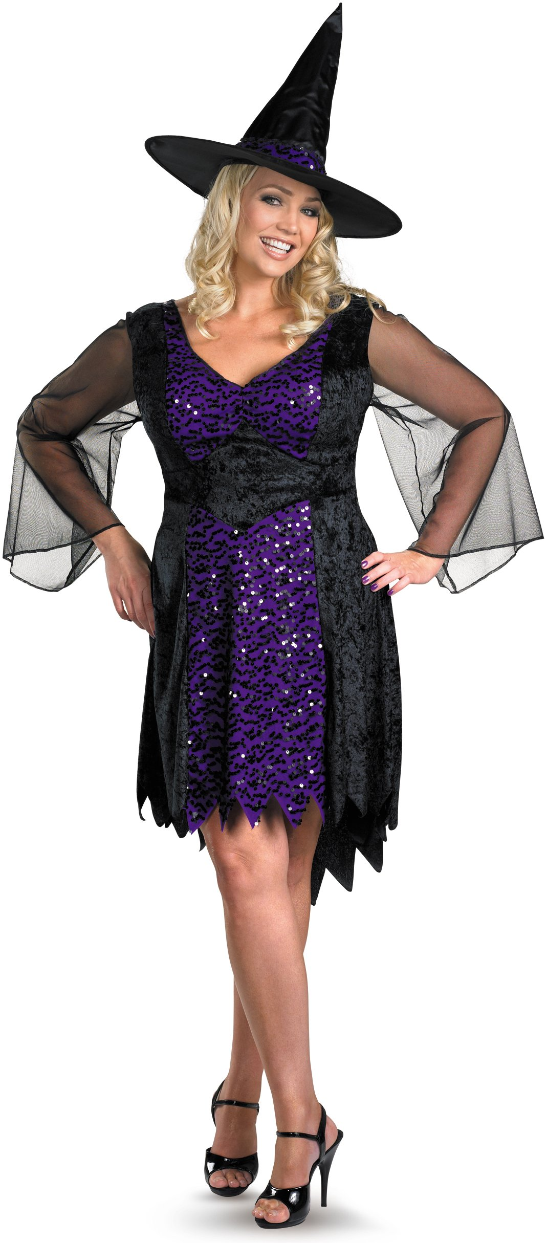 Brilliantly Bewitched Adult Plus Costume
