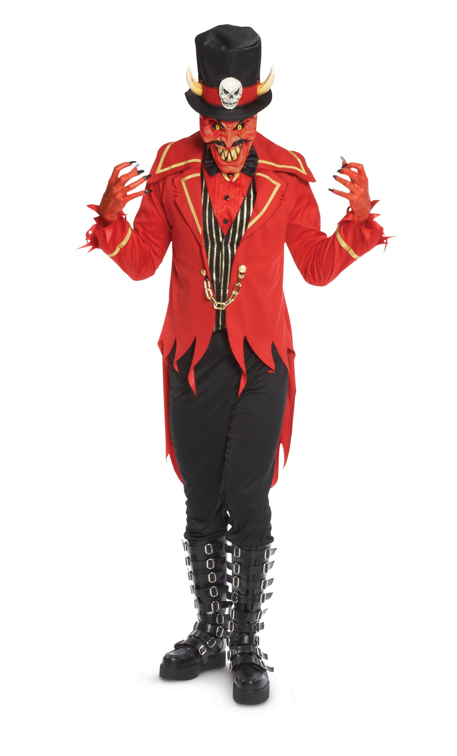 Underworld Ringmaster Devil Adult Costume