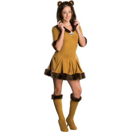 Wizard of Oz Cowardly Lion Tween Costume