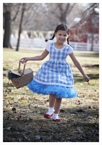Toddler Tutu Dorothy Costume