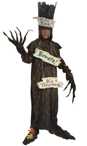 Kids Scary Tree Costume
