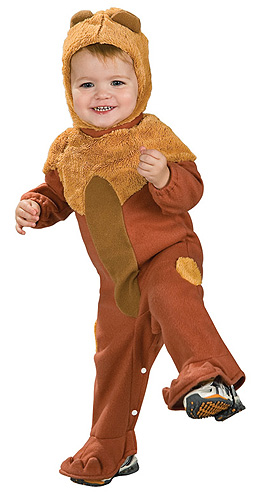 Cowardly Lion Toddler Costume