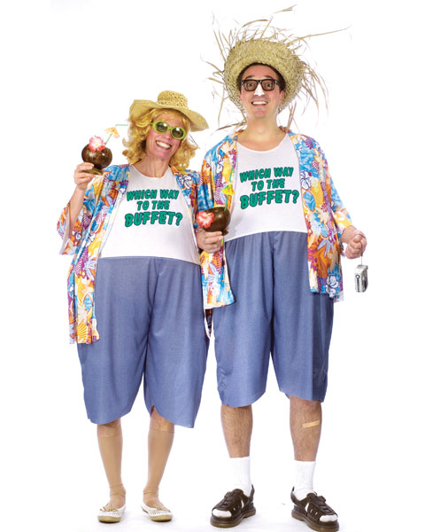 Adult Unisex Tacky Traveler Mens Costume