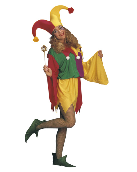 Kings Jester Costume for Adult