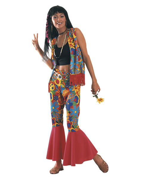 Flower Power Costume for Adults