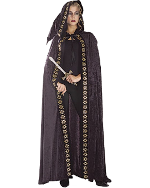 Full Length Hooded Cape Costume