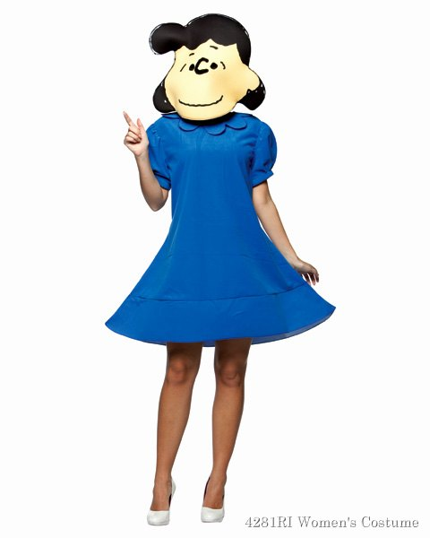 Peanuts Lucy Womens Costume