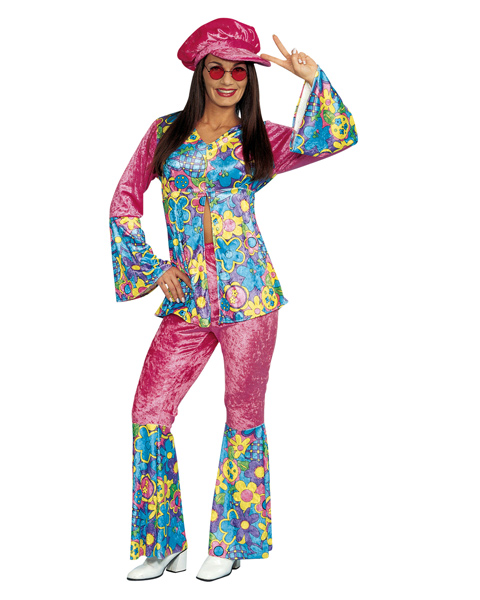 Flower Power Costume For Women