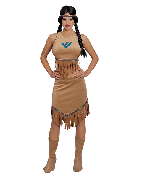 Indian Babe Costume For Women - Click Image to Close