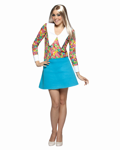 Brady Bunch Marcia Womens Costume
