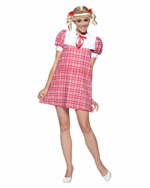 Brady Bunch Cindy Womens Costume