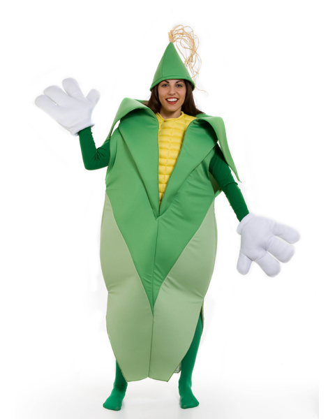 Adult Ear of Corn Costume