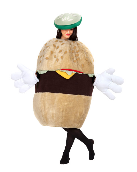Deluxe Cheeseburger Adult Unisex Costume