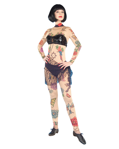 Lydia the Tattooed Lady Circus Costume for Women