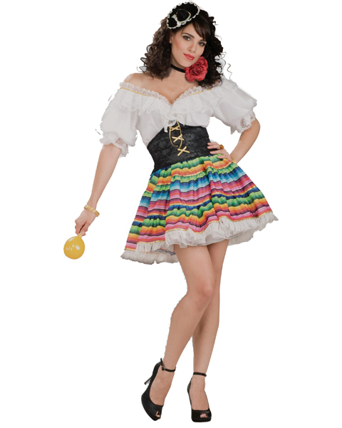 Womens Hot Tamale Costume