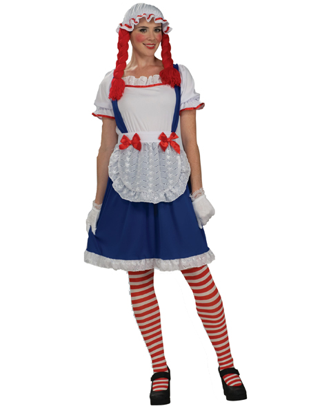 Womens Raggedy Doll Costume