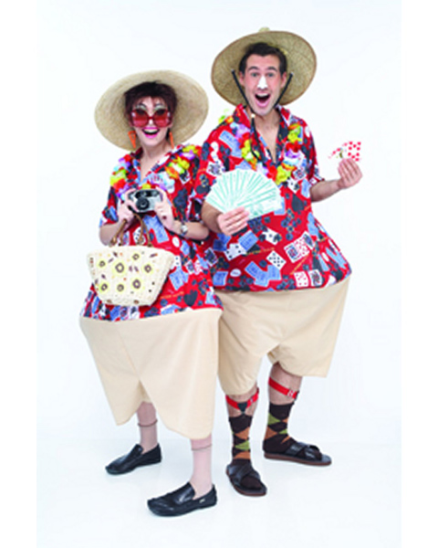 Tacky Vegas Tourist Costume for Adults
