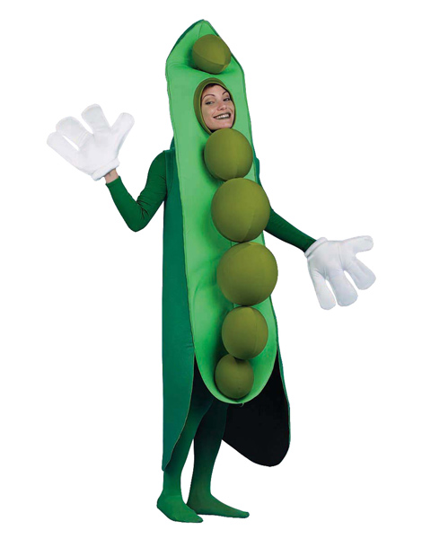 Peas in a Pod Costume for Adults