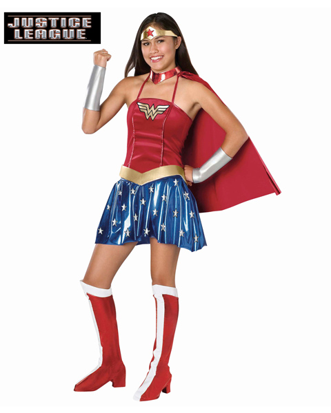 Wonder Woman Costume for Teen - Click Image to Close
