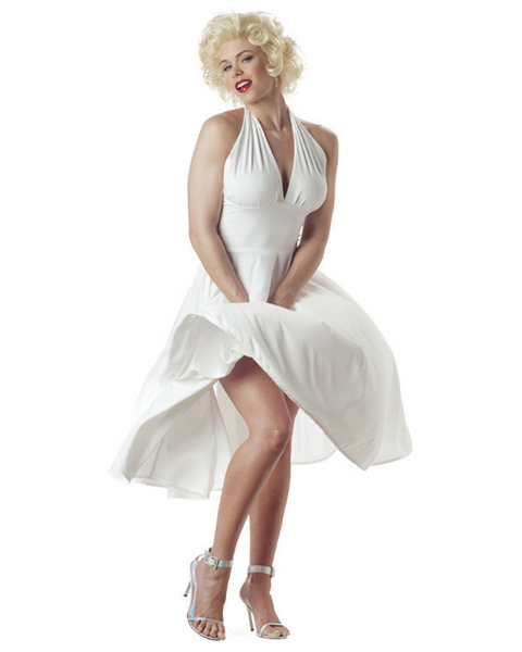 Adult Size Sexy Marilyn Costume