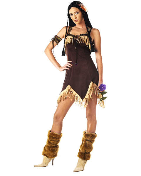 Sexy Indian Princess Costume For Adult