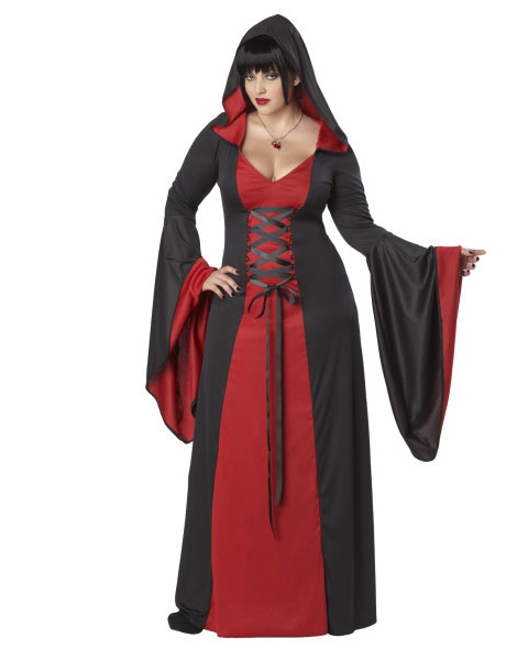 Adult Deluxe Hooded Gown Plus Size Costume