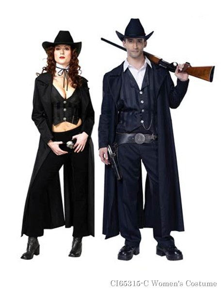 Gunslinger Costume For Couple