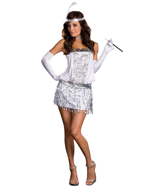 Sexy Toe Tappin Flapa Women's 20s Flapper Costume