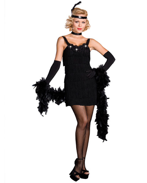Sexy All That Jazz Flapper Women's Costume