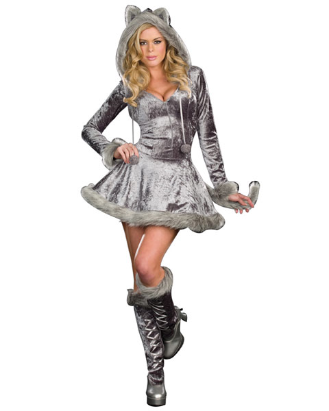 Sexy Big Bad Sexy Wolf Women's Costume