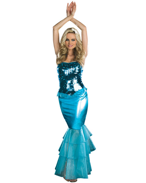 Sexy Sea Diva Mermaid Women's Costume