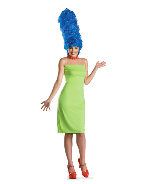Deluxe The Simpsons Marge Womens Costume