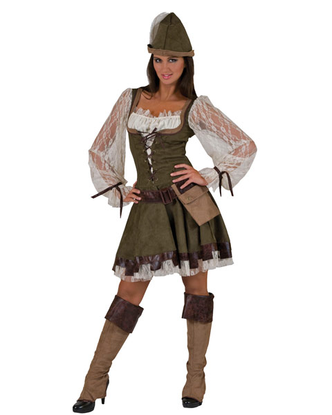 Forest Maid Womens Costume