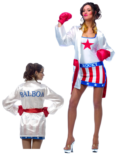 Rocky Balboa Female Costume for Adult