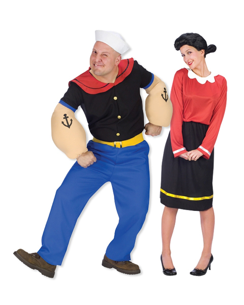 Olive Oyl Adult Couples Costume  sc 1 st  About Costume Shop Halloween Costumes For Adults and Kids Costume ... & Olive Oyl Adult Couples Costume - In Stock : About Costume Shop