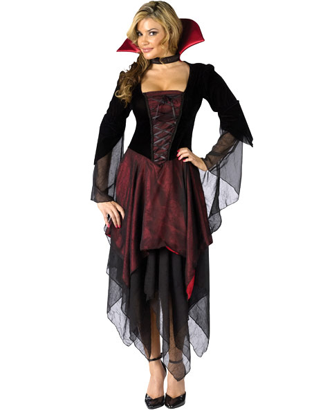 Lady Dracula Womens Costume