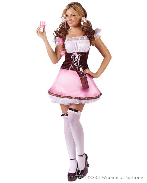 Women's Beer Garden Girl Sexy Costume