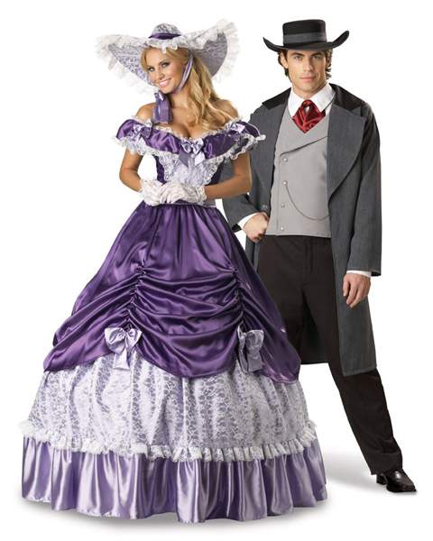 Elite Southern Belle Couple Costume