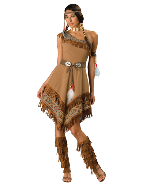 Elite Indian Maiden Womens Costume