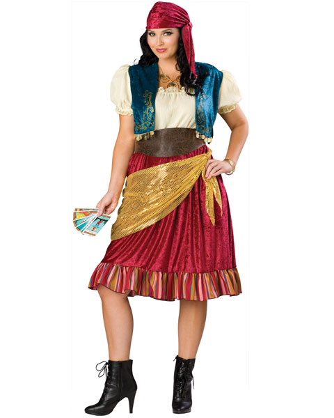 Gypsy Plus Size Womens Costume