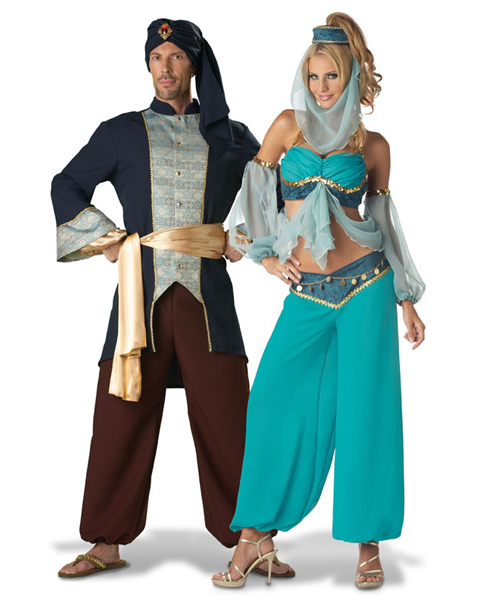 Elite Harems Jewel Adult Couples Costume