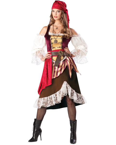Deckhand Darlin Pirate Womens Costume