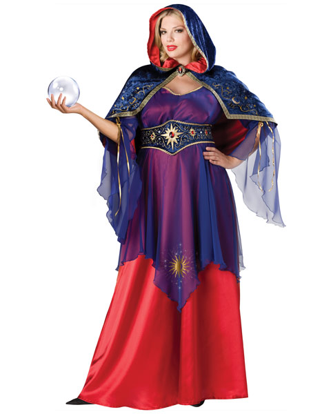 Mystical Sorceress Plus Size Womens Costume