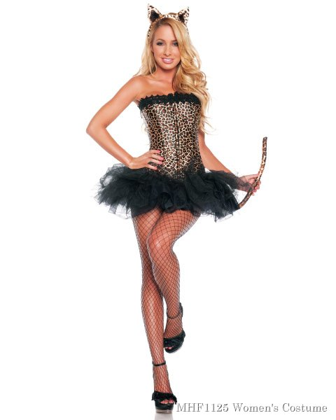 Sexy Leopard Womens Costume