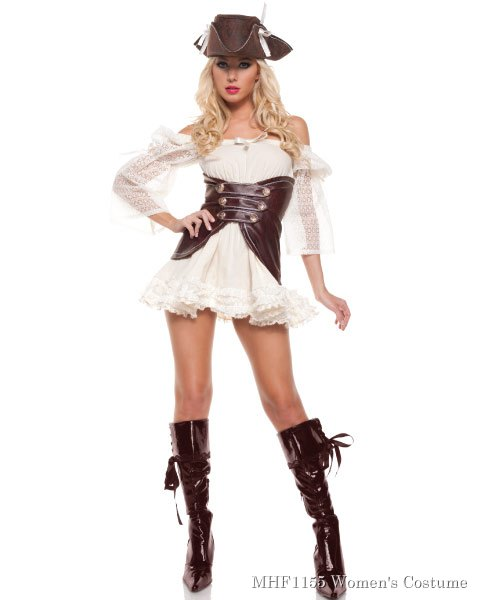 Sexy Pirate Womens Costume