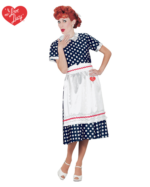 Adult Polka Dot I Love Lucy Dress