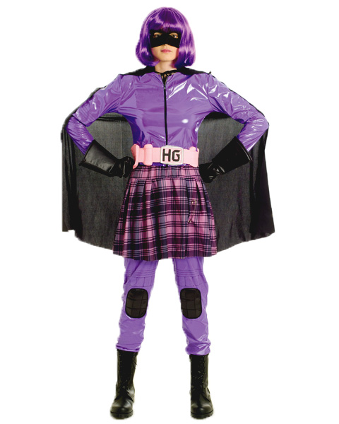 Kick Ass Hit Girl Deluxe Womens Costume