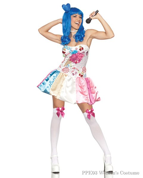 Women's Sweet As Candy California Girl Sexy Costume