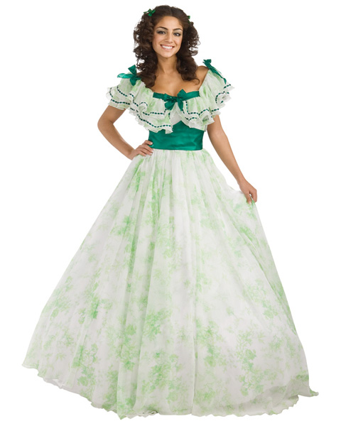Gone With The Wind Scarlet O'Hara Picnic Womens Costume