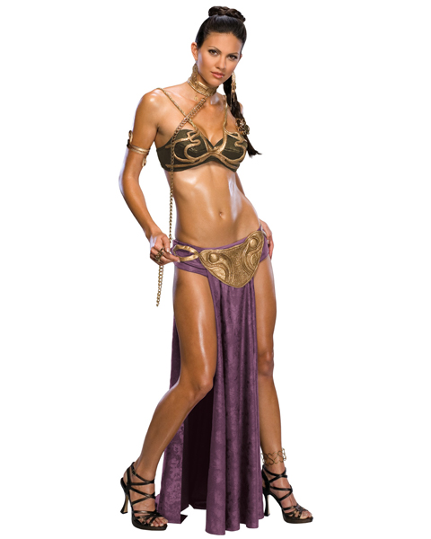 Star Wars Princess Leia Slave Costume for Adult